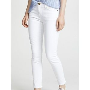Current/Elliot The Stiletto Sugar Cropped Jeans 25